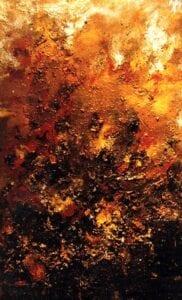 Cuadro en llamas