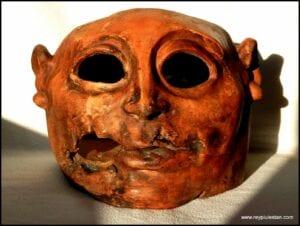 CABEZA DE VISIÓN. Arqueológicas en Escultura. Estudios sobre la Visión.