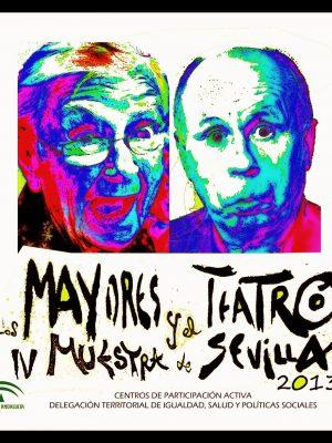 CARTEL LOS MAYORES Y EL TEATRO 2013